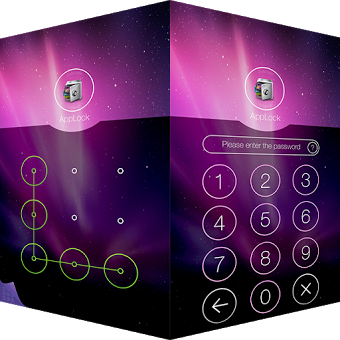 Приложение AppLock Theme Aurora