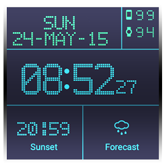 Приложение LED Watchface with Weather