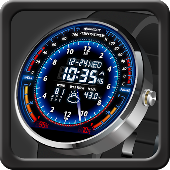 Приложение V05 WatchFace for Moto 360