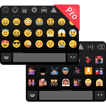 Приложение Emoji Keyboard Pro - Emoticons
