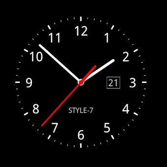 Приложение Analog Clock Live Wallpaper-7