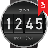 Flip Clock Watch Face