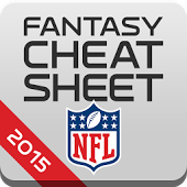 NFL Fantasy Cheat Sheet 2015